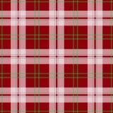 Vector abstract red tartan christmas seamless pattern vector illustration