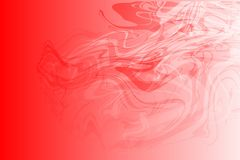 Vector abstract red to white color shaded wavy background, wallpaper. Vector abstract red to white color shaded stream wavy background, wallpaper for many uses Stock Photos