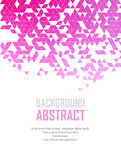 Vector Abstract retro geometric background. Template brochure design Royalty Free Stock Images