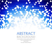 Vector Abstract retro geometric background. Template brochure design Stock Photography