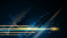 Vector Abstract, science, futuristic, energy technology concept Royalty Free Stock Photo