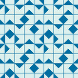 Vector abstract seamless composition best for use as wrapping pa. Per, symmetric ornate background created with simple geometric shapes, squares Royalty Free Stock Images