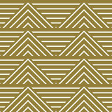 Vector abstract seamless composition best for use as wrapping pa. Per, symmetric ornate background created with simple geometric shapes, triangles Royalty Free Stock Photography