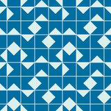 Vector abstract seamless composition best for use as wrapping paper. Symmetric ornate background created with simple geometric shapes Stock Photography