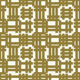 Vector abstract seamless composition best for use in textile and. Fabric, symmetric ornate background created with grid, netting Stock Photography