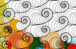 Vector abstract seamless fantasy pattern hand drawn ornaments Stock Photo