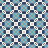 Vector Abstract Seamless Geometric Islamic Wallpaper. Royalty Free Stock Photography
