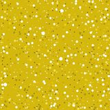 Abstract seamless golden mottled pattern. Vector abstract seamless golden mottled pattern Royalty Free Stock Images