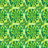 Vector abstract seamless green pattern Stock Photo
