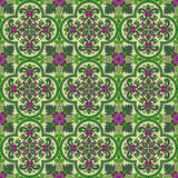 Vector abstract seamless medieval pattern Stock Photo