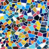 Vector abstract seamless mosaic pattern Stock Image