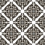 Vector abstract seamless patchwork pattern with geometric and floral ornaments. Vintage tiles intricate details for a decorative look. Ceramic paint floor vector illustration