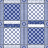 Vector abstract seamless patchwork pattern royalty free stock images