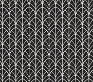 Vector Abstract Seamless Pattern. Art Deco Style Background. Geometric texture. Vector Vintage Art Deco Seamless Pattern stock illustration