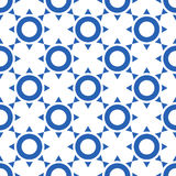 Vector abstract seamless pattern Royalty Free Stock Photography