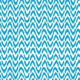 Vector Abstract seamless pattern with hand drawn chevron. Ticks Stock Images
