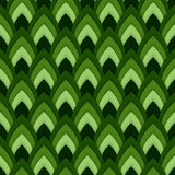 Vector abstract seamless pattern with pointed ovals. Suitable for Wallpapers, backgrounds and presentations Stock Images