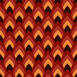 Vector abstract seamless pattern with pointed ovals. Suitable for Wallpapers, backgrounds and presentations Royalty Free Stock Image