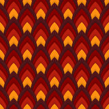 Vector abstract seamless pattern with pointed ovals. Suitable for Wallpapers, backgrounds and presentations Stock Photography