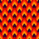 Vector abstract seamless pattern with pointed ovals. Suitable for Wallpapers, backgrounds and presentations Royalty Free Stock Images
