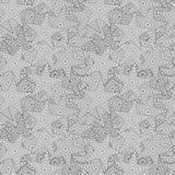 Vector abstract seamless pattern with stars Stock Photography