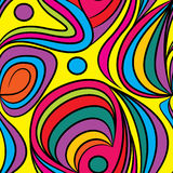 Vector abstract seamless pattern. Vector abstract seamless vivid pattern Royalty Free Stock Photography