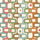 Vector abstract seamless vintage geometry background. Eps-8 Royalty Free Stock Photo