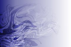 Vector abstract shaded wavy background, wallpaper. Vector abstract  shaded stream line wavy background, wallpaper for many uses Royalty Free Stock Photo