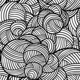 Vector abstract shapes pattern Stock Photography