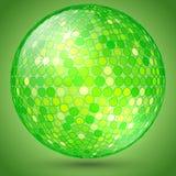 Vector abstract shining crystal ball Stock Images