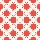 Vector abstract sier naadloos patroon Rode terracottaachtergrond royalty-vrije illustratie