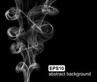 Abstract smoke background. Vector illustration. Vector abstract smoke background. Vector illustration Stock Images