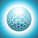 Vector Abstract Sphere Royalty Free Stock Photo