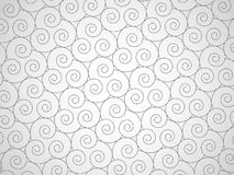 Vector abstract spirals background Royalty Free Stock Photos