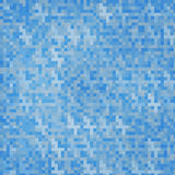 Vector abstract square pixel mosaic. Stock Images