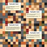 Vector abstract squares background, Royalty Free Stock Photography