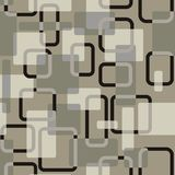 Vector abstract squares seamless vitage grey-coloured pattern vector illustration