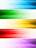 Vector abstract style banners Royalty Free Stock Images