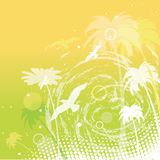 vector abstract summer background Royalty Free Stock Image