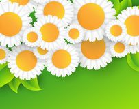 Vector abstract summer time background Royalty Free Stock Photography