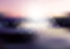 Vector abstract sun holiday blurred background Stock Images