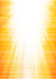 Vector abstract sunny background. Clip-art Stock Image