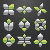 Vector Abstract Symbol Set. EPS 8.0 file available royalty free illustration