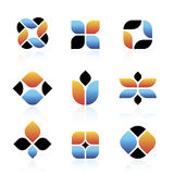 Vector Abstract Symbols Stock Photo