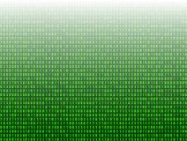 Vector Abstract Technology Background, 3D Effect, Green Binary Code Data. stock illustration