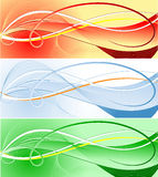 Vector abstract template Royalty Free Stock Photo