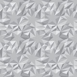 Vector abstract texture - stars and triangles Stock Photography