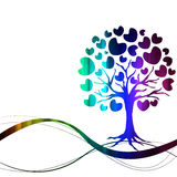 Vector of abstract tree icon Stock Photos