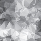 vector abstract  triangular mosaic pattern Stock Photos
