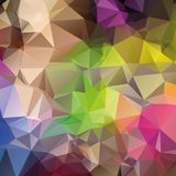 Vector abstract triangular mosaic pattern Royalty Free Stock Photo